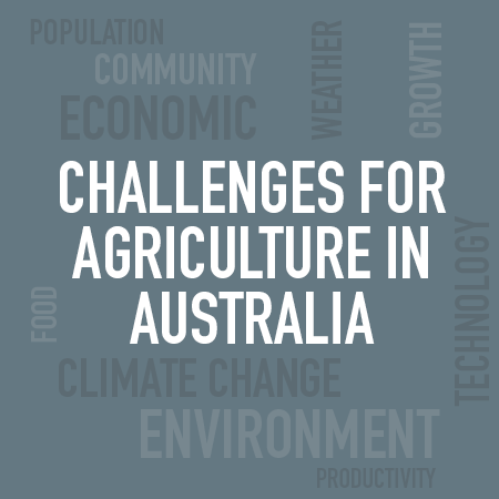 challenges for agriculture in australia